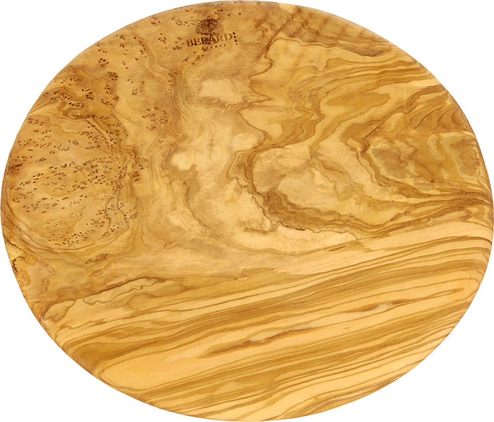 Berard Rundes Brett  23 cm Olivenholz