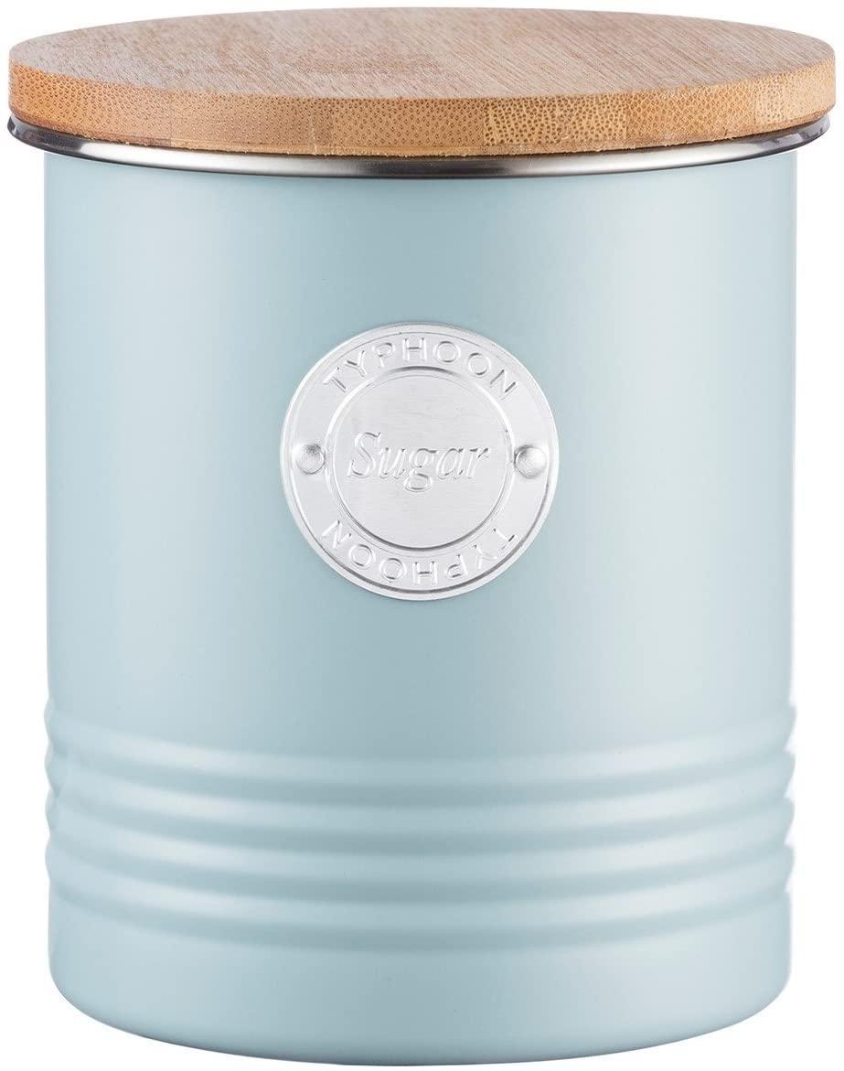 Typhoon Living Collection Vorratsbehälter Zucker, pastellblau, 1 Liter