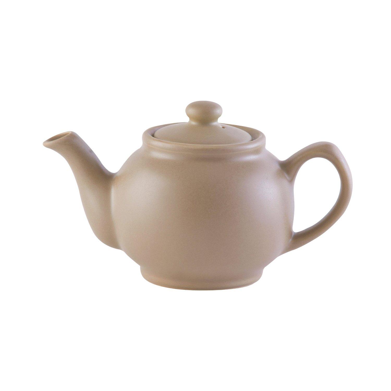 Price & Kensington Teekanne matt taupe 6 Tassen