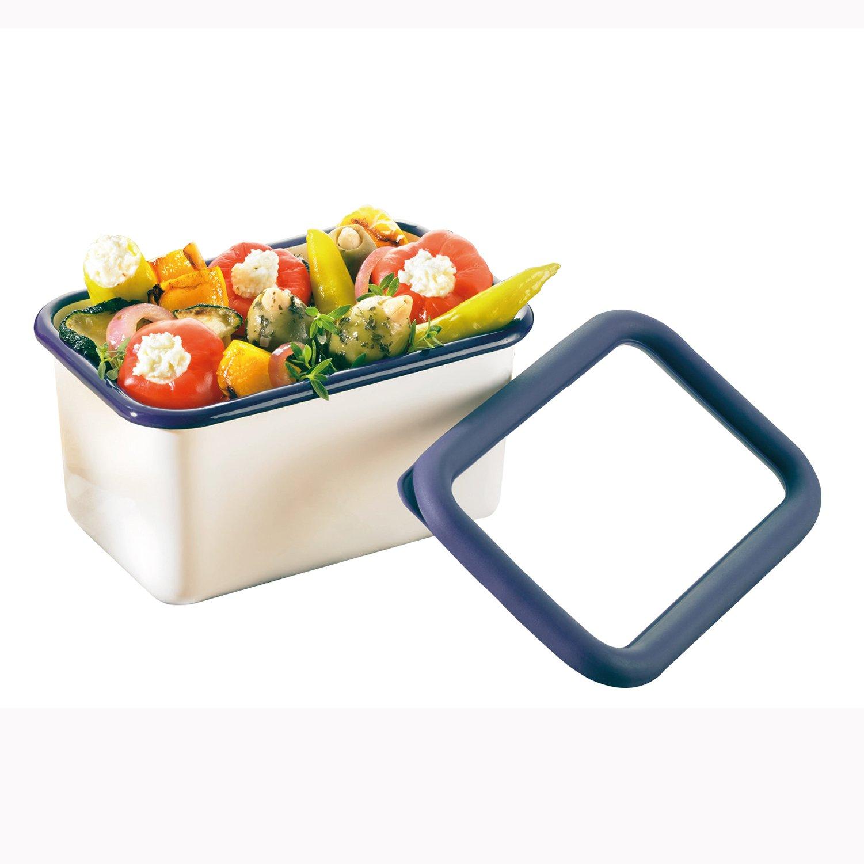 Honey Ware Vorratsbehälter Emaille 0,65 Liter mit Deckel