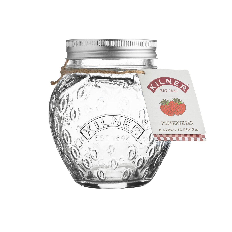 Kilner Marmeladenglas Erdbeere, Orange, Tomate 400 ml Erdbeere