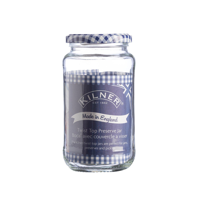 Kilner Rundes Einmachglas mit Drehverschluss 725 ml