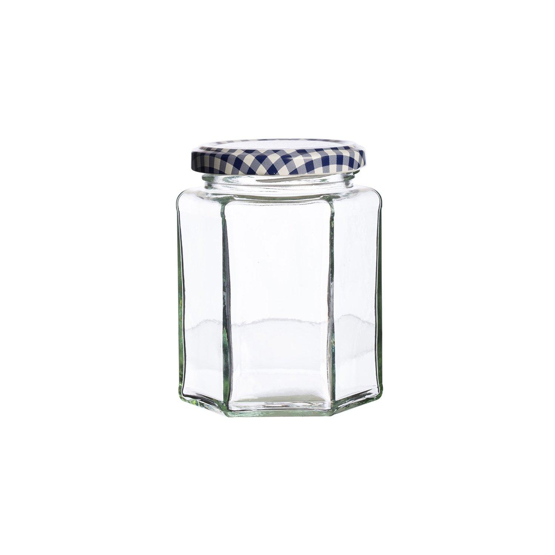 Kilner Einmachglas mit Drehverschluss sechseckig 280 ml