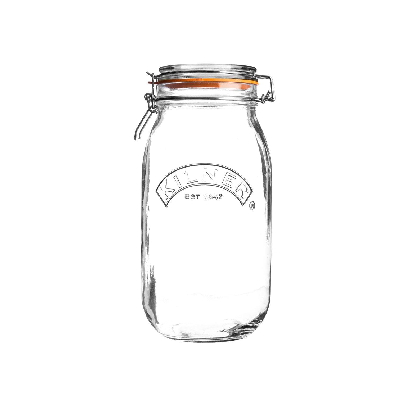 Kilner Einkochglas / Vorratsglas mit Bügelverschluss 3 Liter