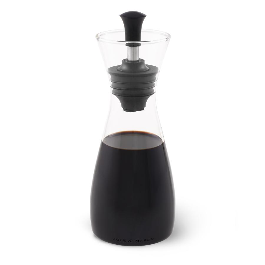 Cole & Mason Öl- & Essig Flasche mit Ausgießer und Verschluß, Höhe 21 cm