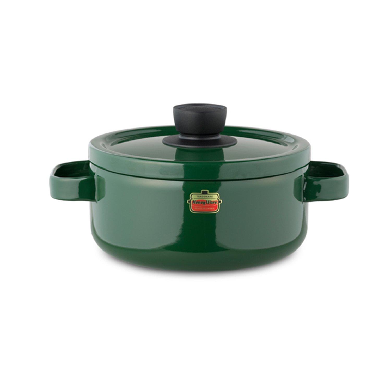 Honey Ware Emaille Topf 20 cm grün, 3 Liter