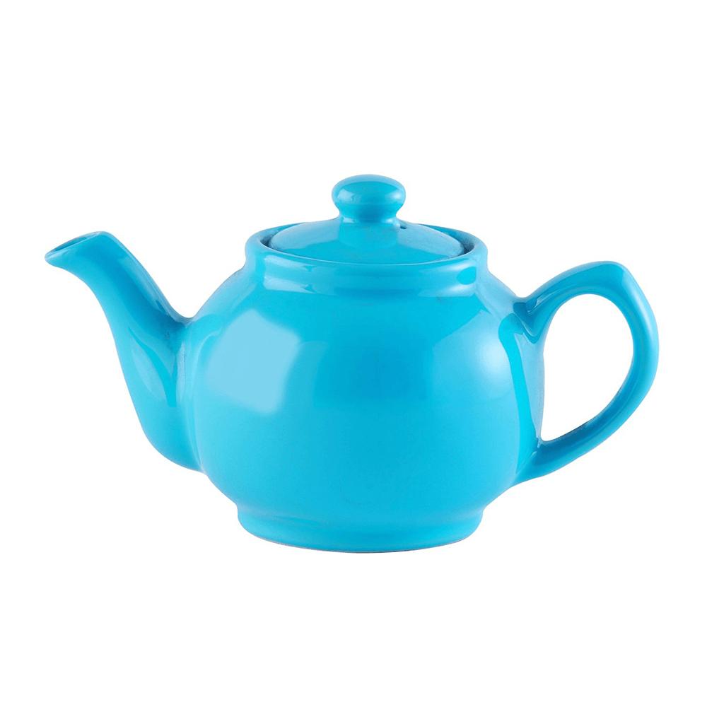 Price & Kensington Teekanne glänzend blau 6 Tassen
