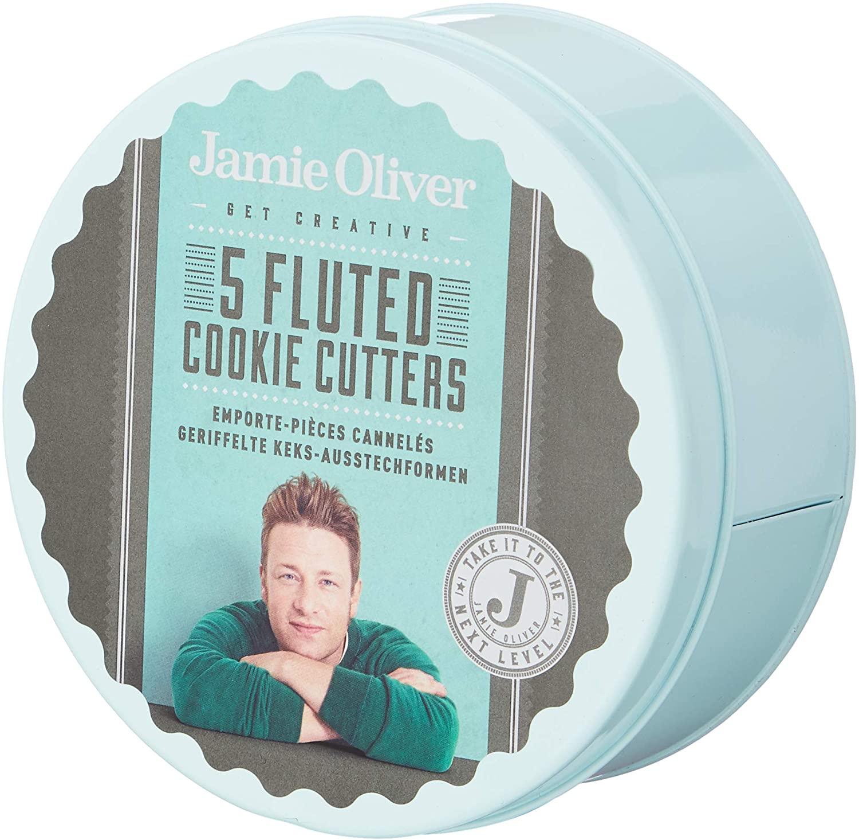 Jamie Oliver gewellte Keksausstecher im 5er-Set
