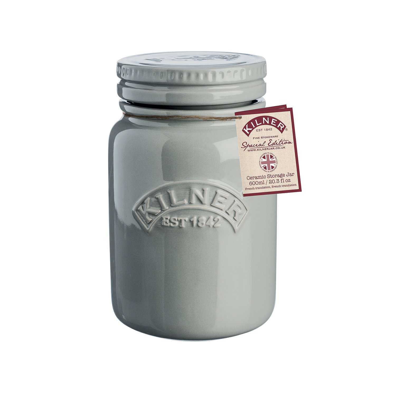 Kilner Keramik Vorratsbehälter mit luftdichtem Verschluss 600 ml
