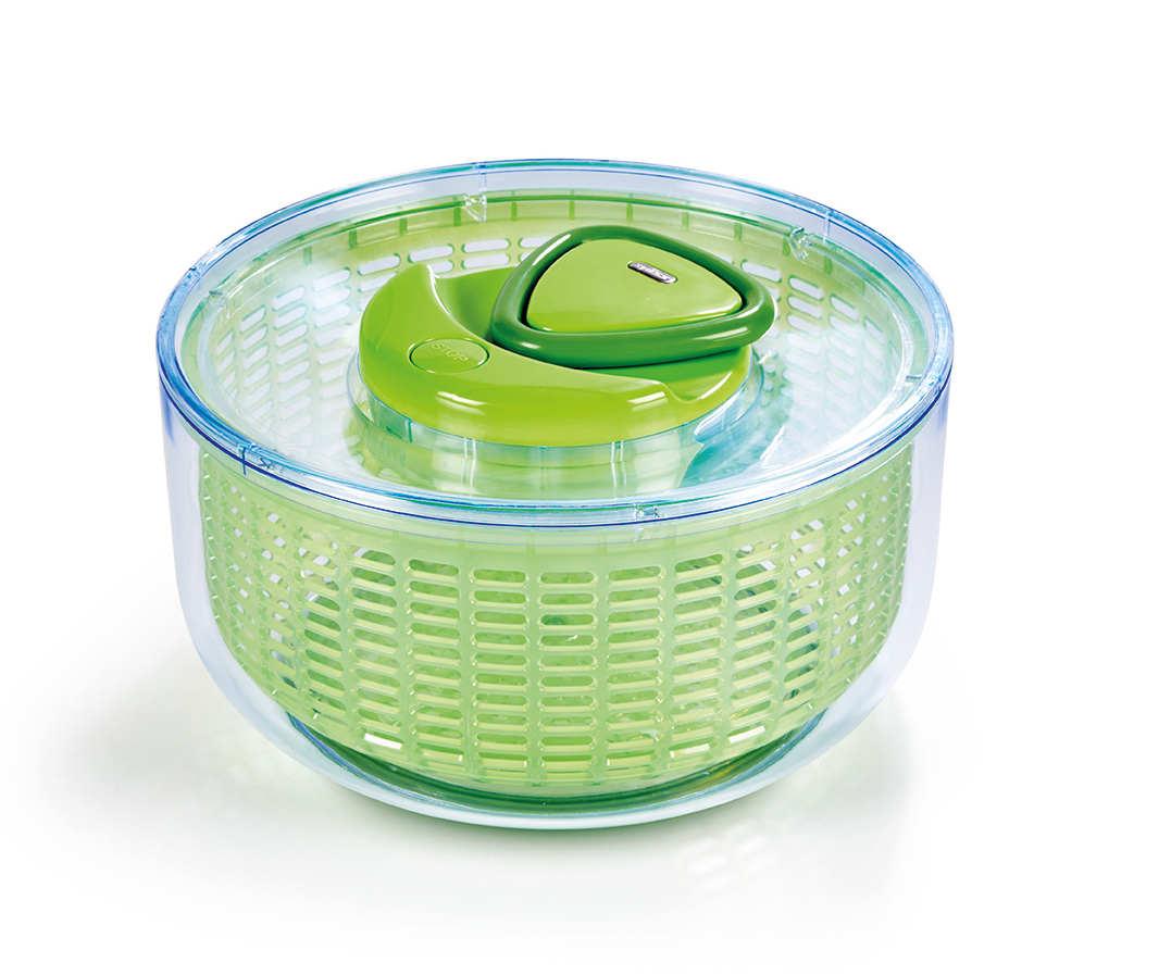 Zyliss Easy Spin Salatschleuder grün groß