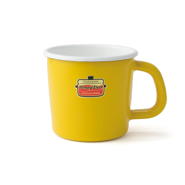Honey Ware Kaffee- und Campingtasse gelb, 250 ml