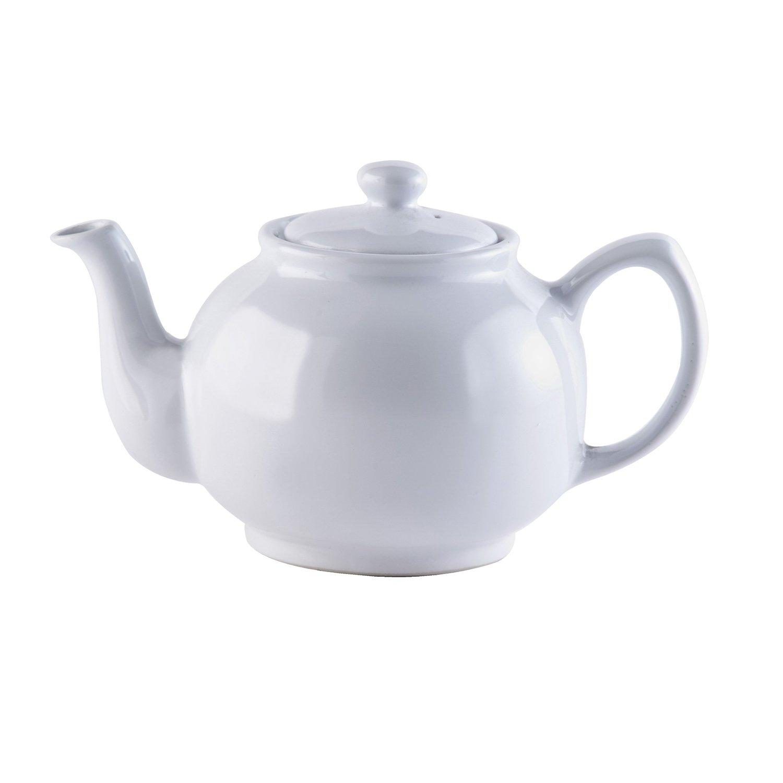 Price & Kensington Teekanne weiß 6 Tassen