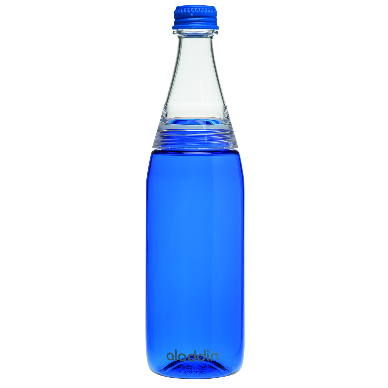 aladdin Fresco Twist & Go Wasserflasche 0.6L, Blau