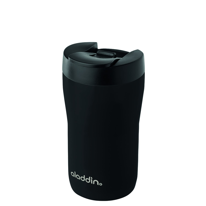 aladdin Latte Leak-Lock™ Edelstahl-Becher 0.25L, Schwarz