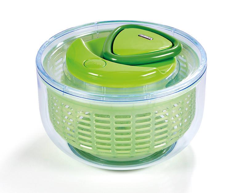 Zyliss Easy Spin Salatschleuder grün klein
