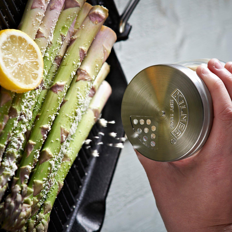 Kilner Vorratsglas mit Drehverschluss und Streuer 250ml