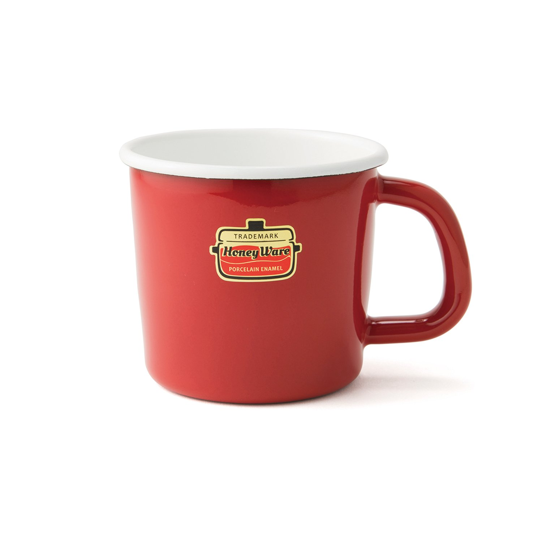 Honey Ware Kaffee- und Campingtasse rot, 250 ml